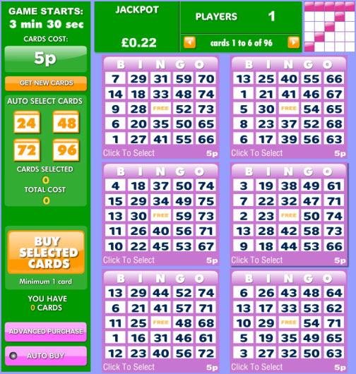 75 ball bingo 888bingo