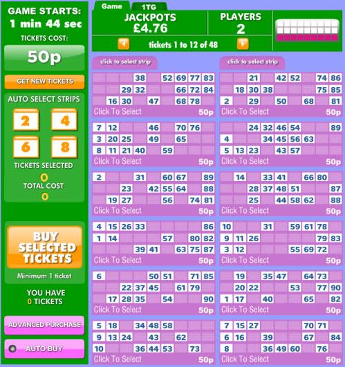 90 ball bingo 888bingo