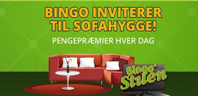 Sofahygge med bingo fra Danske SPil bingo